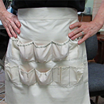 How to Make an Egg Collection Apron